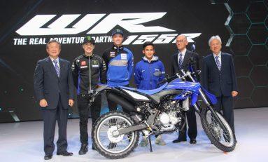 Rossi Absen, Vinales dan Van der Mark Luncurkan 3 Produk Baru Yamaha di Jakarta
