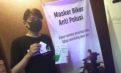 Ferrox Luncurkan Masker Bikers Anti Polusi dan Tahan Bau Sampah