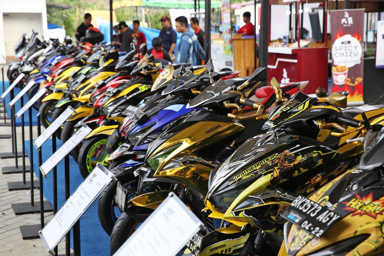 Kontes Modifikasi Customaxi Yamaha Buka 2 Kelas Baru
