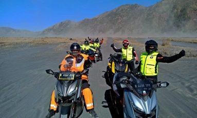 Komunitas XMax Owner Depok (XMOD) Padukan Gaya Touring dengan Hobi Makan