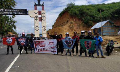 Touring Bikers X-Riders Yamaha Indonesia (XYI) Se-Provinsi Gorontalo Road To Palu