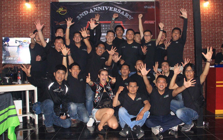 Masuki Usia 2 Tahun, Komunitas Z900 Baikaa Indonesia Semakin Solid dan Kompak