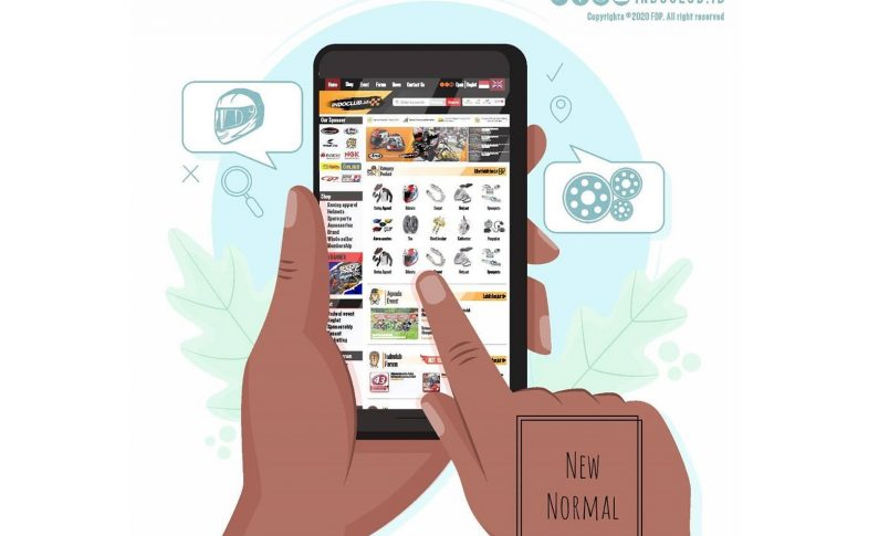 Indoclub Rambah Bisnis Marketplace, E-Commerce Khusus Bikers