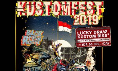 Kustomfest 2019 Manjakan Sobat Ambyar 'Didi Kempot'