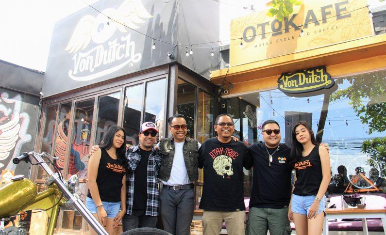 Von Dutch dan Otokafe Tarik Minat Bikers Berkunjung ke Ubud, Bali