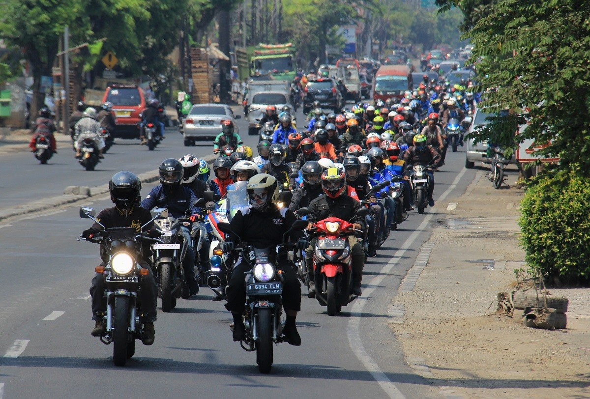 Pecah, 1.500an Bikers Suzuki Ikuti Sunmori