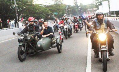 Bikers Brotherhood Bermotor dengan Menpora