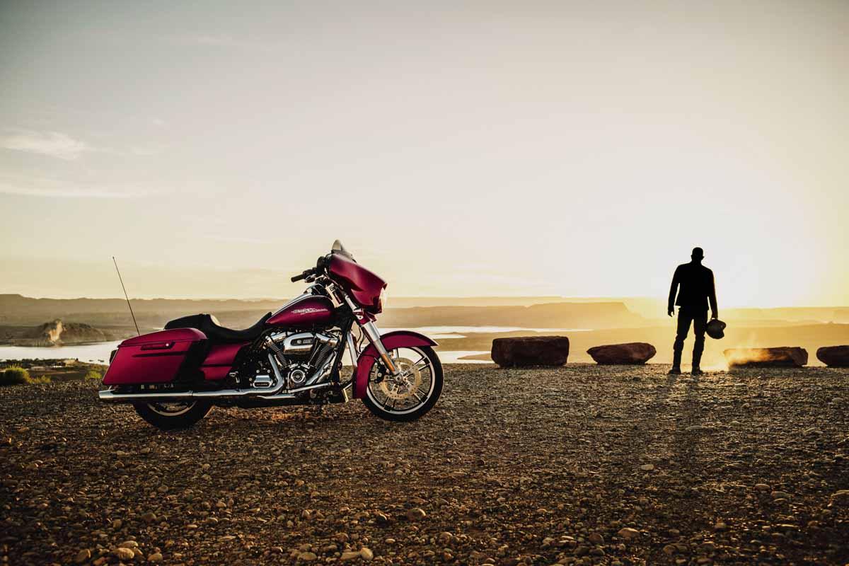 Harley Davidson Produksi Mesin Big Twin Baru