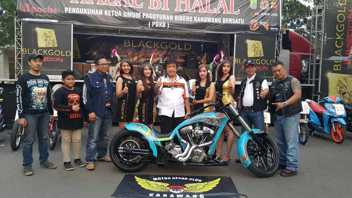 Dendi Ananda, Ketua Paguyuban Bikers Karawang Bersatu