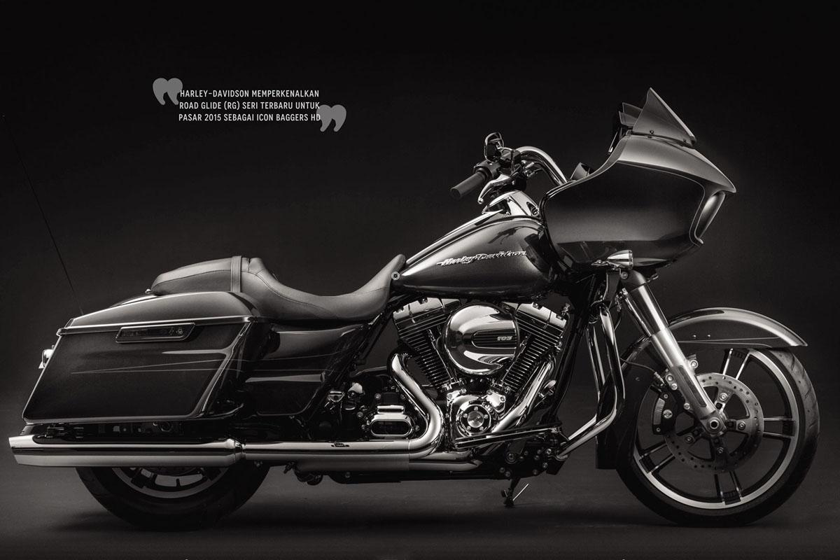 Harley Davidson Road Glide 2015