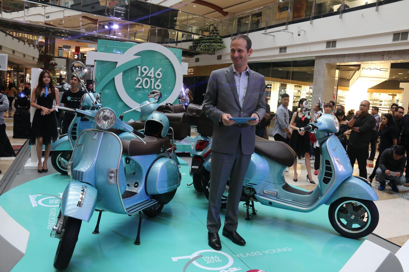 Tiga Model Vespa Seharga Hingga Rp 200 Juta Hadir di Indonesia