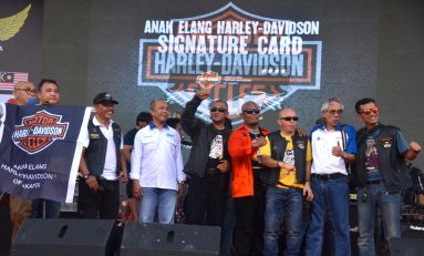 Peluncuran Anak Elang Harley-Davidson Signature Card