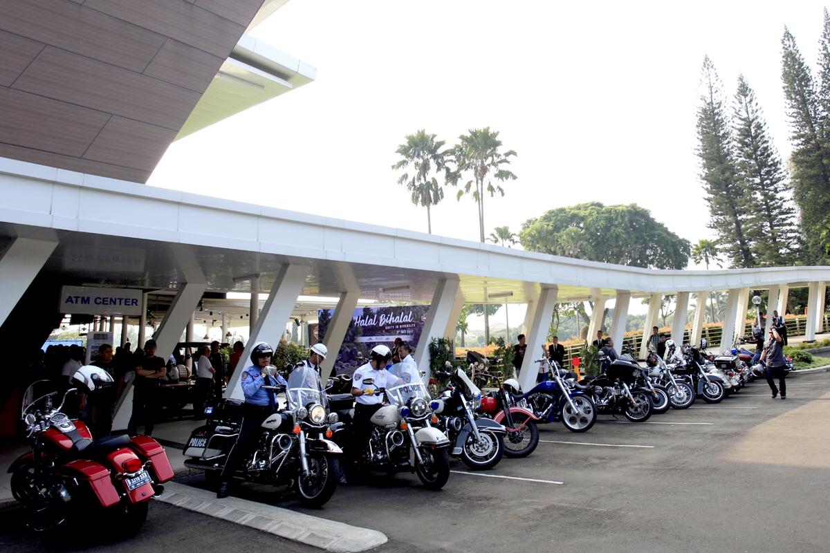Sekitar 300 motor hadir dalam Halal Bihalal H.O.G JC 2017