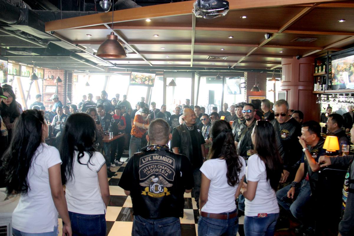 Halal Bihalal H.O.G Jakarta Chapter berlangsung meriah di Sport Stube, Pondok Indah