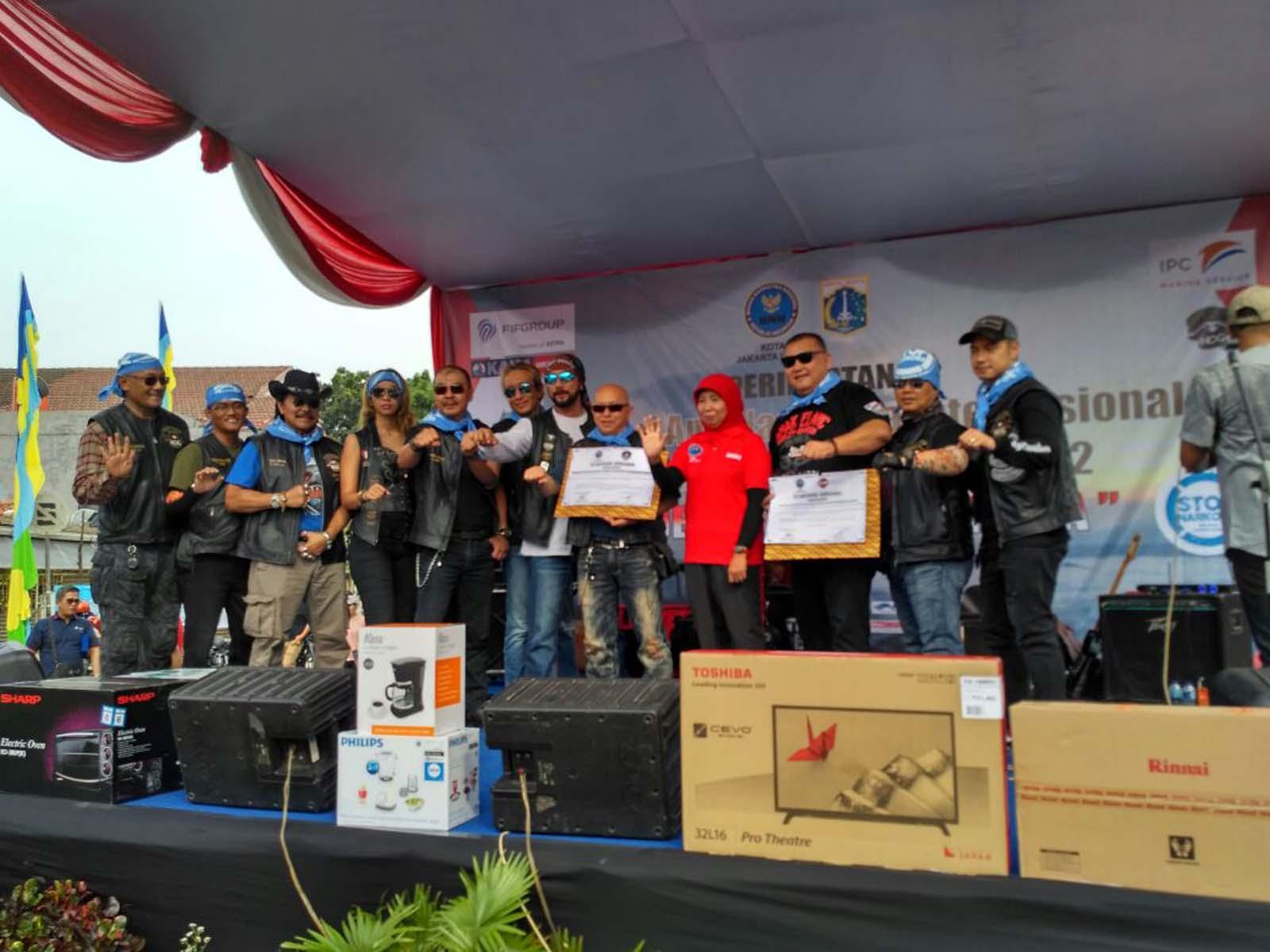 Anak Elang HD dan Komunitas Bikers Dukung Gerakan Tolak Narkoba_1