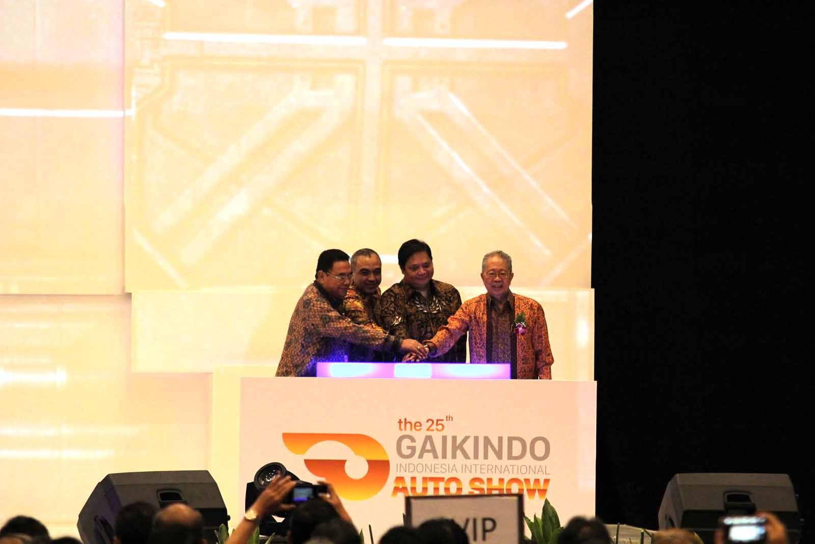 GIIAS 2017 Dibuka, Menteri Perindustrian Optimis Perkembangan Otomotif Indonesia