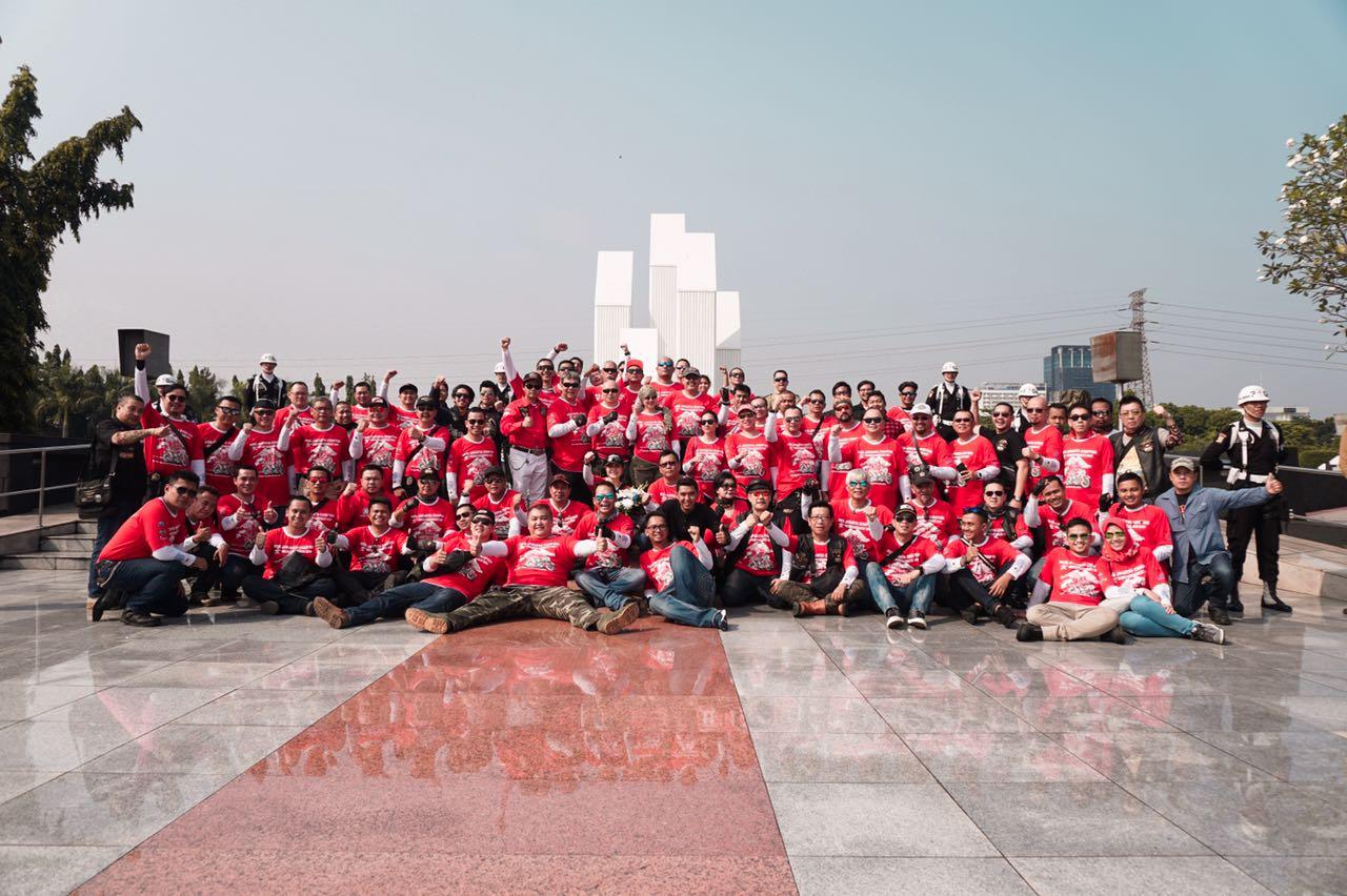 HOG JC Rayakan 72 Tahun Kemerdekaan RI
