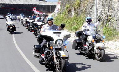Puluhan Bikers Moge Indonesia Akan Touring Lintasi 3 Negara