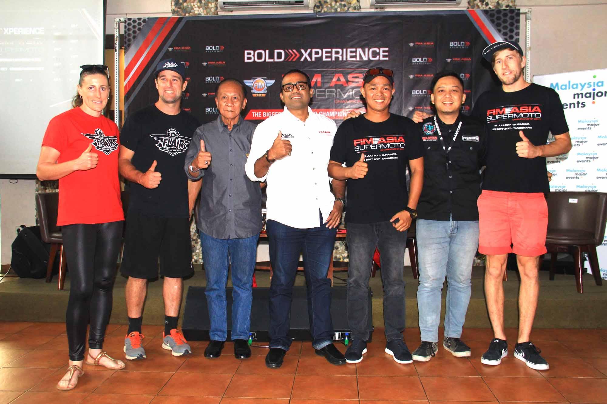 Indonesia Jadi Tuan Rumah FIM Asia Supermoto 2017