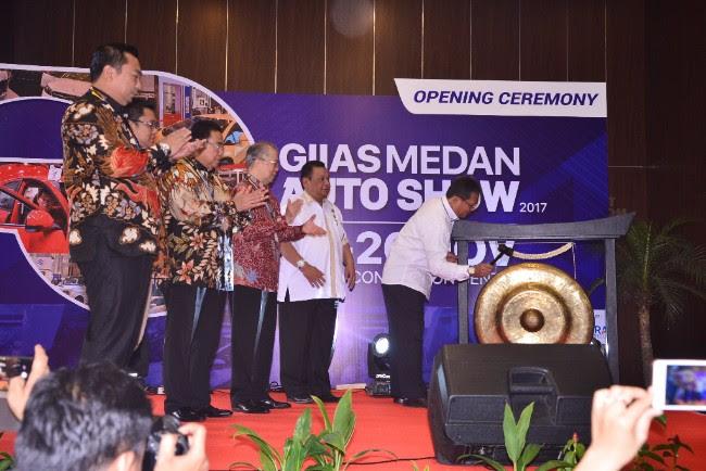 GIIAS Medan Auto Show 2017 Resmi Dibuka