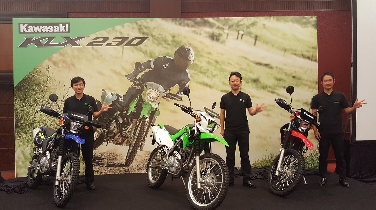 Kawasaki KLX230 Resmi Meluncur, Harga Masih Promo