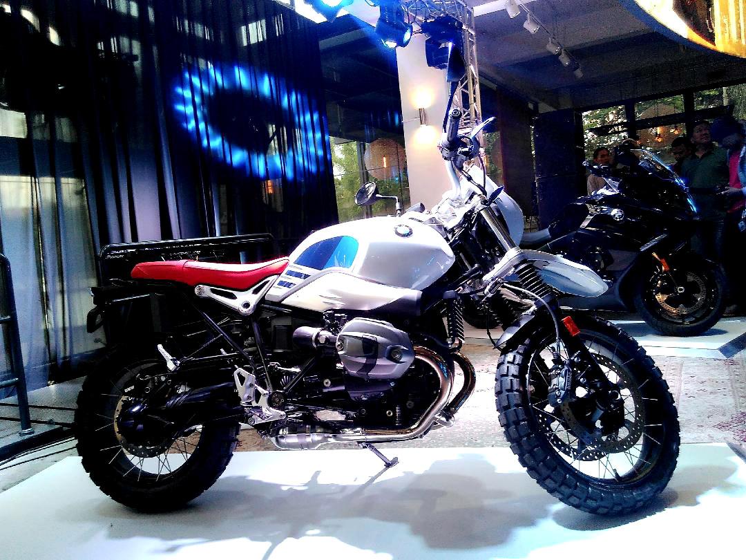 BMW R nineT Urban GS saat peluncuran di BMW Motorrad Flagship Store Jakarta
