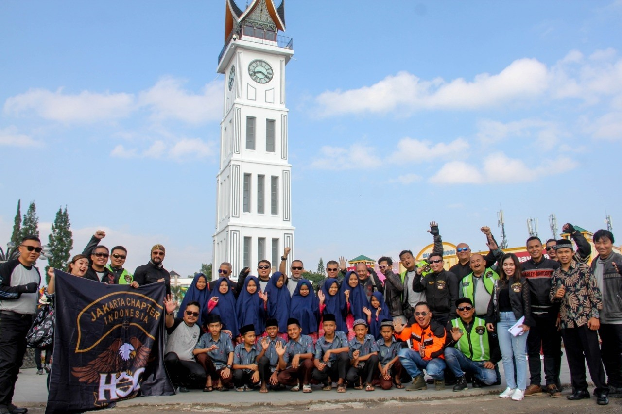 Touring Unik HOG Jakarta Chapter