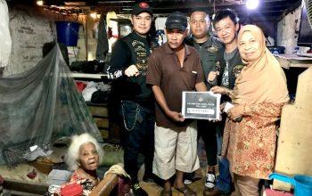 Tepis Biker Arogan, Harley Owners Group Anak Elang Jakarta Berbagi dengan Warga Senior