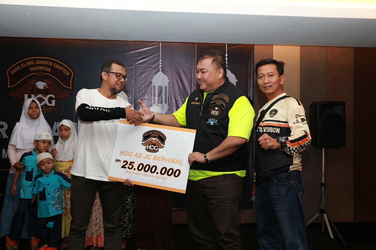 H.O.G Anak Elang Jakarta Chapter Rayakan Ramadan 2018