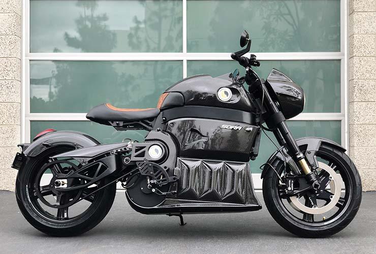 SORA, Motor Listrik Superbike Pertama Hadir dengan Generasi Kedua