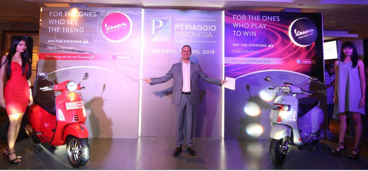 Piaggio Luncurkan Generasi Terbaru Vespa Primavera dan Sprint