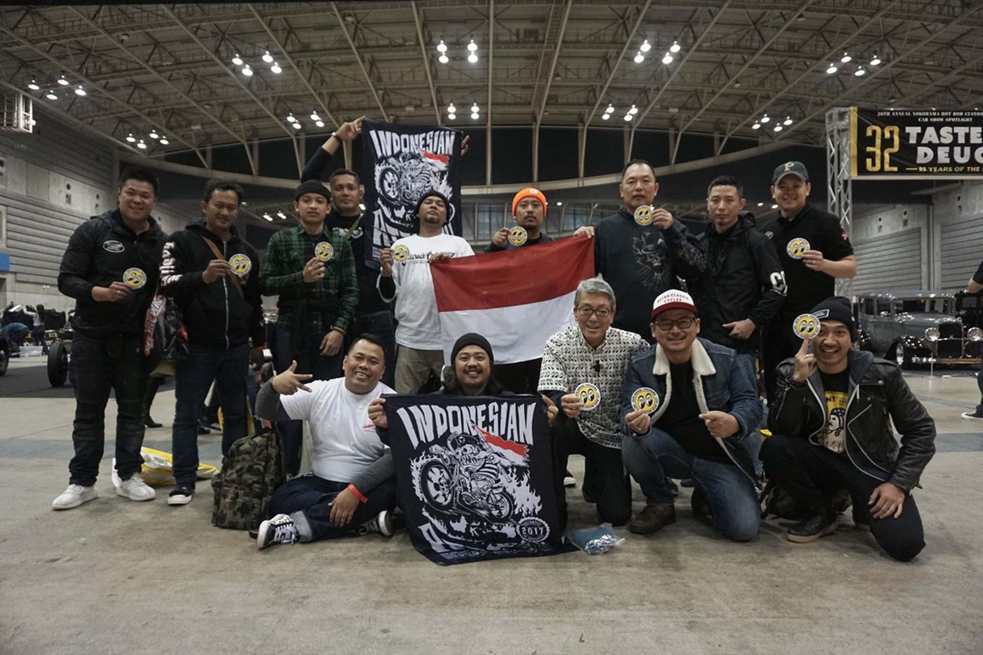 Builder Indonesia Gegerkan Panggung Motor Kustom Dunia