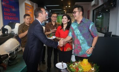 Piaggio Indonesia Resmikan Diler Baru di Bogor