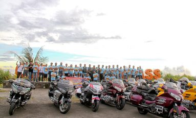 Touring Perdana Honda Gold Wing Club Indonesia