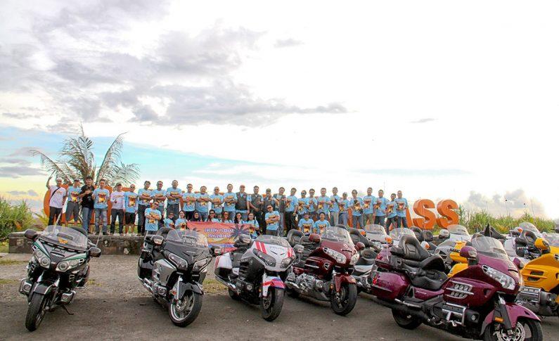 Touring Perdana Honda Gold Wing Club Indonesia