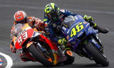 Duel Rossi vs Marquez di Seri Kedua MotoGP Esports 2020