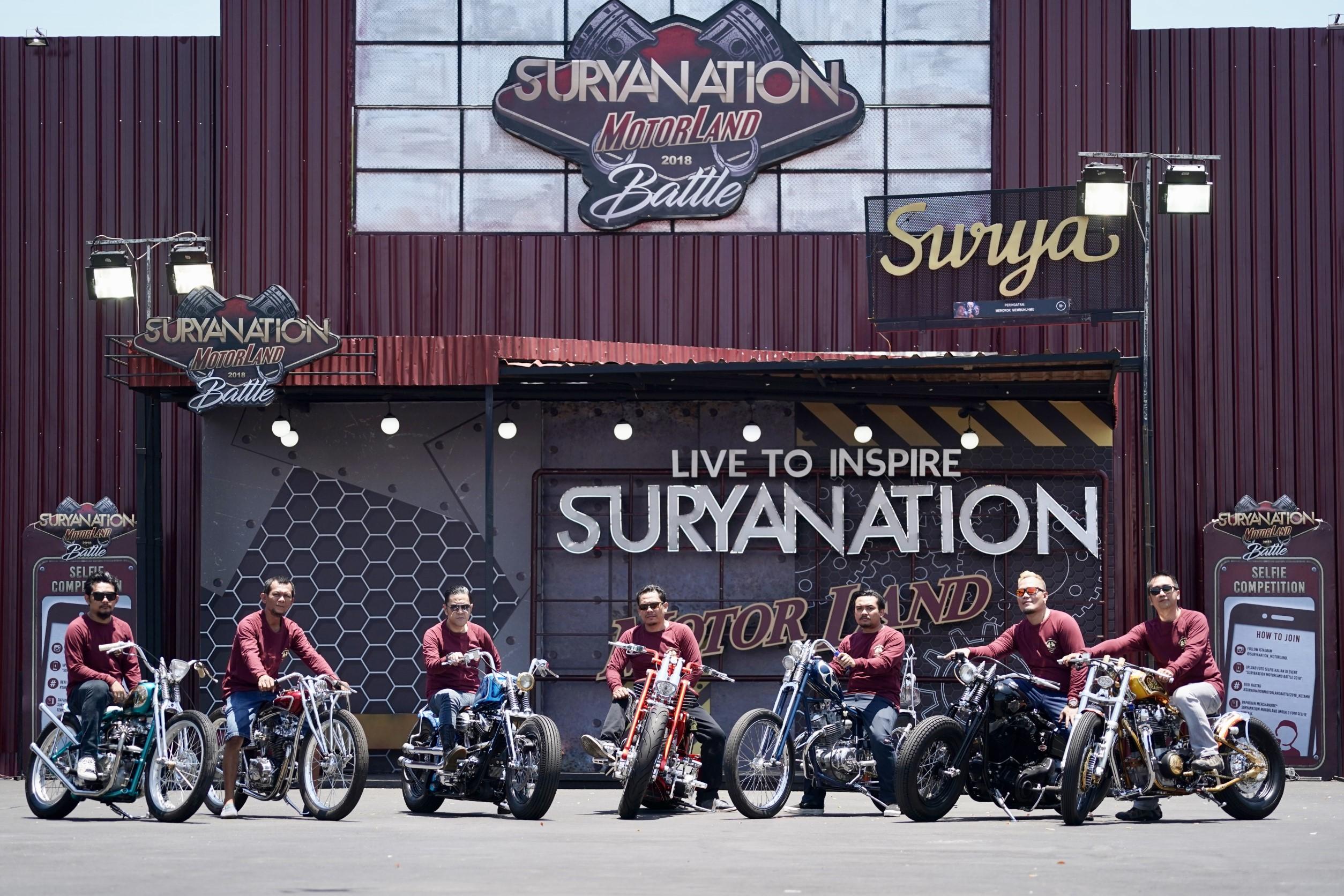 Suryanation Motorland Antar Builder Indonesia Tampil di Jerman