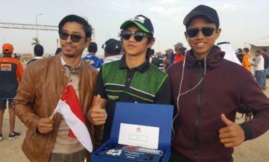 Crosser Indonesia Kibarkan Merah Putih di Kejuaraan Motocross Kuwait
