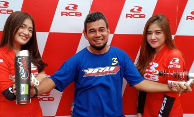 Bidik Komunitas Balap, RCB Support YROI Batik Racing Team