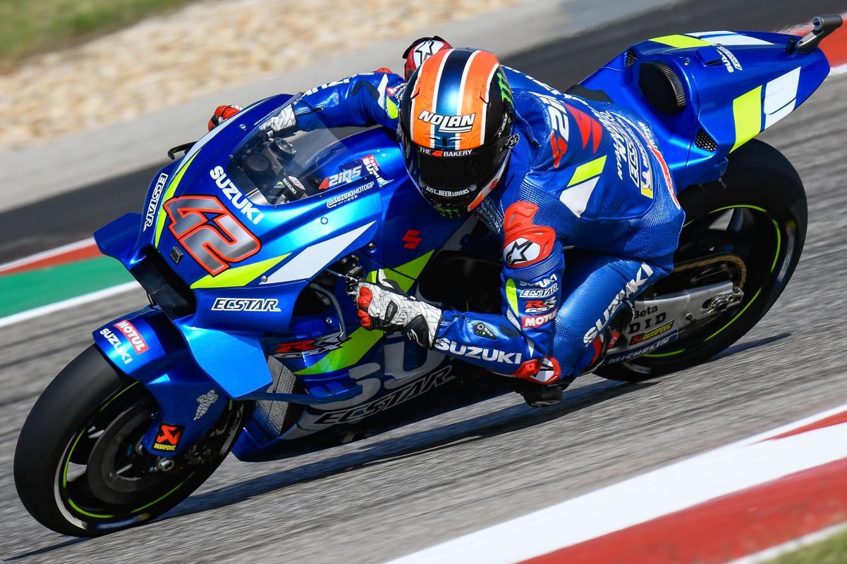Marquez Kecelakaan, Alex Rins Bawa Suzuki Raih Kemenangan MotoGP Amerika 2019