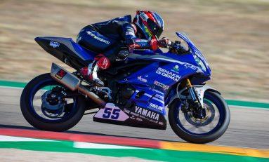 Kecelakaan, Galang Hendra Gagal Finish di WSSP300 2019 Seri Aragon