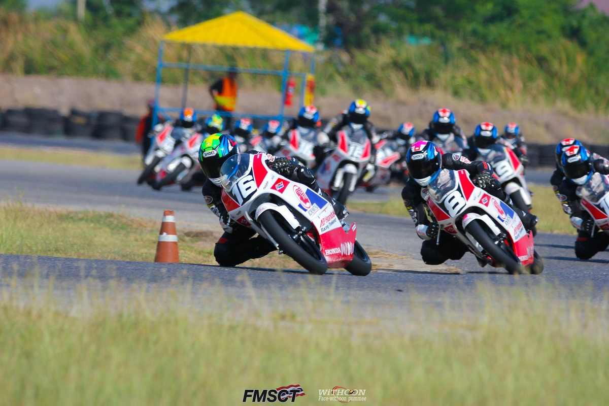 Pebalap Indonesia Juarai Seri 1 Thailand Talent Cup (TTC) 2019