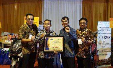 Yamaha Indonesia Donasikan 129 Unit Sepeda Motor ke SMK di Jawa Barat