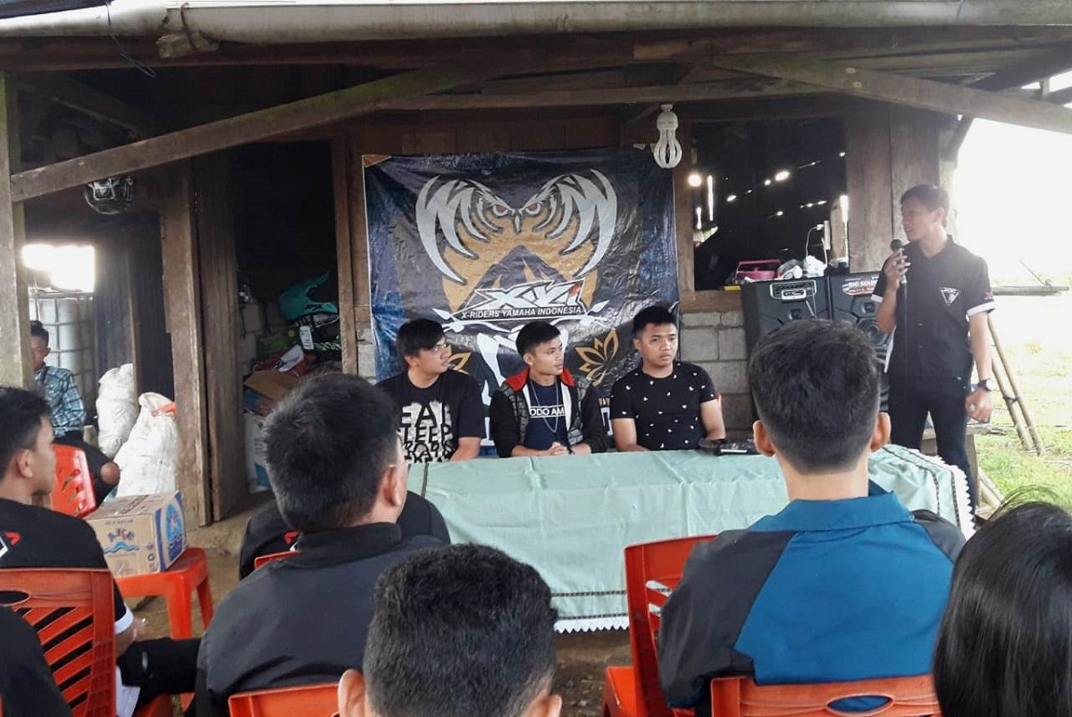 Komunitas X-Ride Yamaha Indonesia (XYI) Region Tomohon Resmi Deklarasi