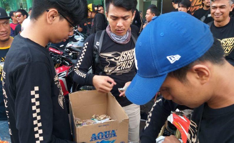 Supermoto Indonesia (SMI) Galang Donasi Untuk Korban Banjir Sentani