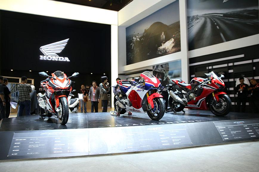 AHM Boyong 30 Motor Honda Terbaru di IIMS 2019