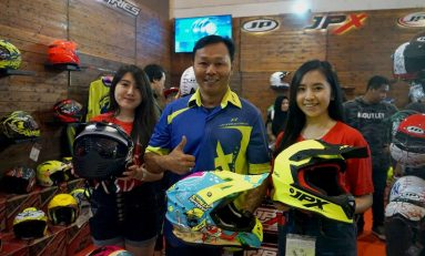 JPX Fox1 JR, Helm Cross Khusus Anak-anak Diluncurkan
