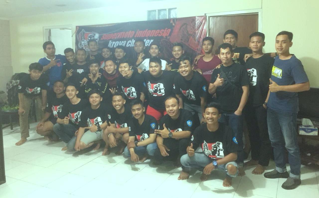 Perayaan HUT ke-3 Supermoto Indonesia (SMI) Kroya Sekaligus Lantik Member Baru