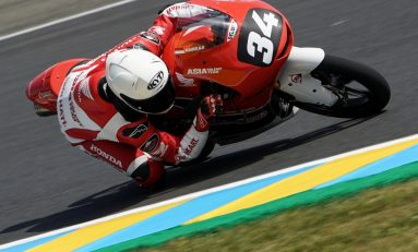Mario Aji Gagal Finish di CEV Moto3 Le Mans, Prancis