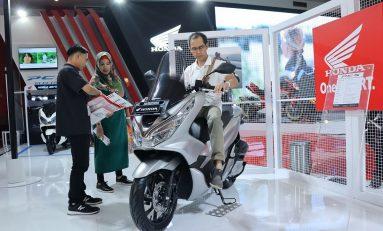 Honda PCX, Skutik Terlaris AHM di IIMS 2019
